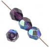 Fire Polished 4mm Purple Aurora Borealis